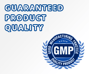 Guaranteed Product Quality